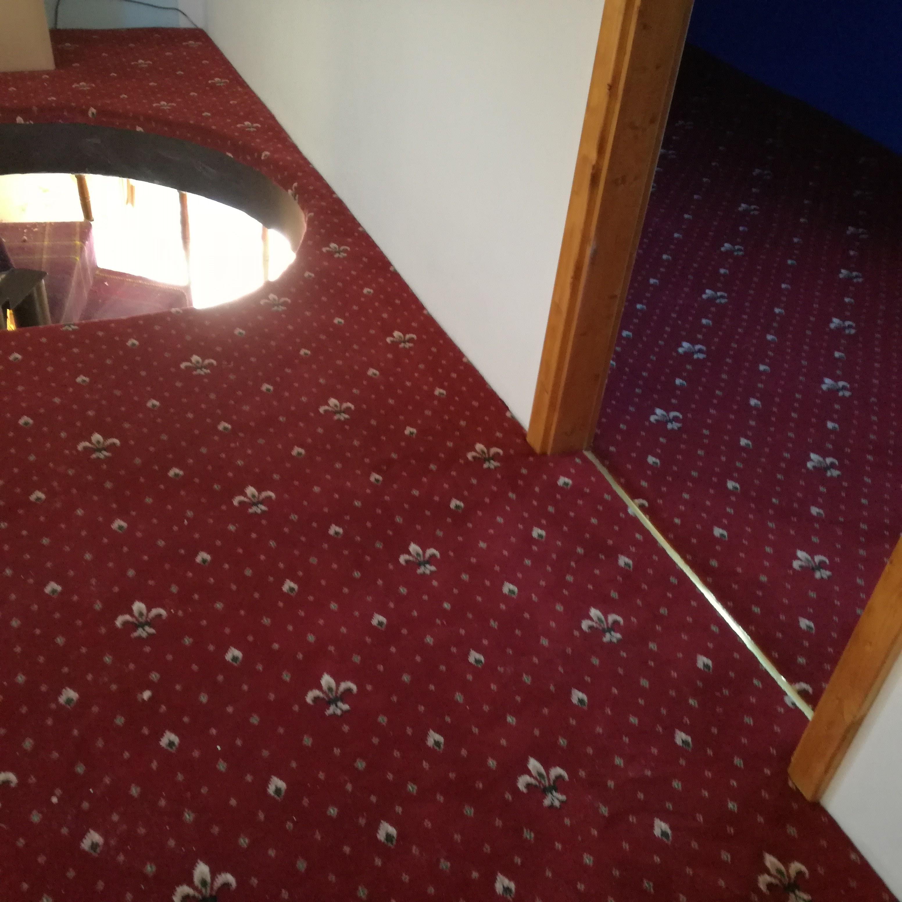 Hotelový koberce Wellington v podkroví RD